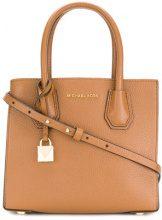 Michael Michael Kors - Borsa tote 'Mercer' - women - Leather - One Size - BROWN