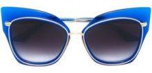 Dita Eyewear - Occhiali da sole 'Stormy' - women - Acetate/Metal (Other) - OS - BLUE
