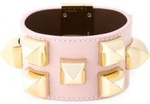Givenchy - studded cuff - women - Calf Leather/Metal (Other) - S - Rosa & viola