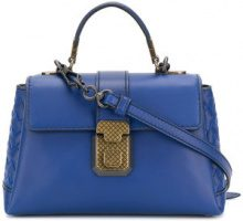 Bottega Veneta - mini Piazza tote - women - Leather - OS - BLUE