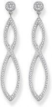 THOMAS SABO Donna 925 argento bianco Zirconia cubica