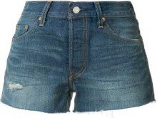 Levi's - Shorts a jeans - women - Cotton - 24, 25, 26, 27, 28, 29, 30 - BLUE