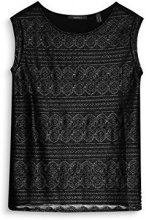 ESPRIT Collection 087eo1k018, Vestaglia Donna, Nero (Black 001), Large
