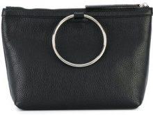 Kara - ring handle tote - women - Leather - OS - BLACK