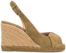 Castañer - Sandali - women - Cotone/Leather/rubber - 36, 37, 38, 39 - GREEN