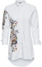 ONLY Long Detailed Shirt Women White