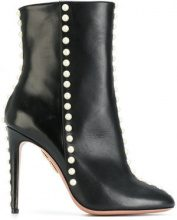 Aquazzura - Stivali 'Folie' - women - Calf Leather/Leather - 38, 39, 41, 38.5, 40, 36.5, 37 - BLACK