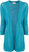 Snobby Sheep - sheer cardigan - women - Silk/Cotton - 40, 42, 44 - BLUE