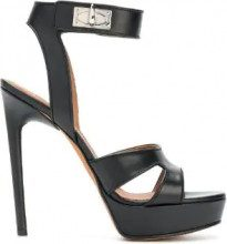 Givenchy - Shark Lock sandals - women - Calf Leather/Leather - 36.5, 36, 38, 38.5, 39, 40 - Nero