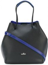 Hogan - small bucket bag - women - Calf Leather - OS - BLACK