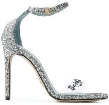 Chiara Ferragni - Chiara Suite sandals - women - Leather/PVC - 35, 36, 37, 38, 39, 40 - METALLIC