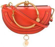 Chloé - Borsa miniaudiere Nile - women - Calf Leather - OS - Giallo & arancio