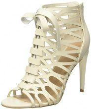 Guess Footwear Dress Shootie, Scarpe col Tacco con Cinturino Dietro la Caviglia Donna, Avorio (Ivory), 40 EU