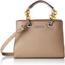 Tamaris Rania Handbag - Borse a secchiello Donna, Beige (Pepper), 11x20x27.5 cm (B x H T)