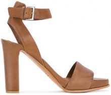 - Del Carlo - Sandali con tacco - women - Leather/Calf Leather - 37, 38, 39 - Marrone