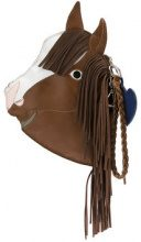 Sarah Chofakian - horse clutch - women - Goat Skin - OS - BROWN