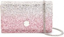 Jimmy Choo - Florence clutch bag - women - Polyamide/Leather/Calf Leather - OS - PINK & PURPLE