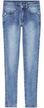 FIND Jeans Skinny Donna, Blu (Mid Blue), W32/L32 (Taglia Produttore: Large)