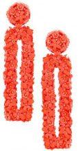 Sachin & Babi - Fleur Dawn earrings - women - Sequin - OS - Giallo & arancio