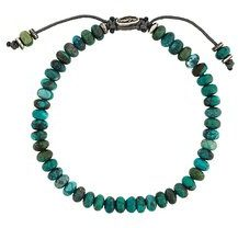 M. Cohen - stacked beaded bracelet - women - Pietra - OS - GREEN