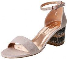 XTI 30702, Scarpe con Cinturino alla Caviglia Donna, Rosa (Nude), 38 EU