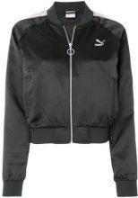 Puma - Bomber corto - women - Nylon/Polyester/Spandex/Elastane - XS, S - Nero