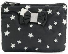 Sonia By Sonia Rykiel - Trousse con stelle - women - Polyester - OS - BLACK