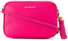 Michael Michael Kors - Ginny crossbody bag - women - Calf Leather - One Size - PINK & PURPLE