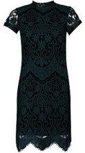 Boutique Malika Eyelash Lace Bodycon Dress
