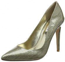DuneAiyana - Scarpe con Tacco Donna, Oro (Gold (Gold)), 39