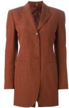 Romeo Gigli Vintage - oversize suit jacket - women - Viscose/Wool/Rayon - 40 - RED
