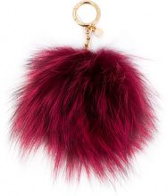 Michael Michael Kors - Portachiavi - women - Fox Fur - OS - RED