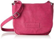 Fritzi aus Preussen Grela - Borse a tracolla Donna, Rosa (Pink), 10x18x24 cm (B x H T)