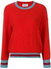 Essentiel Antwerp - Maglione oversized - women - Nylon/Mercerized Wool/Acrylic - XS, S - RED
