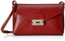 Pollini Bag Donna Borse Baguette Rosso (Ruggine) 22x5x15 cm (B x H x T)
