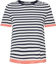 ONLY Striped T-shirt Women White