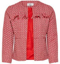 ONLY Boucle Blazer Women Red