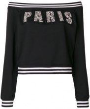 Isabelle Blanche - Maglia 'Paris' - women - Cotton - M - BLACK