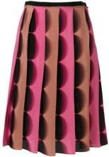 - Marco De Vincenzo - Gonna a trapezio plissettata - women - seta - 40, 42, 44 - di colore rosa