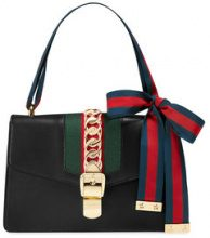 Gucci - Borsa a spalla 'Sylvie' - women - Leather - One Size - BLACK