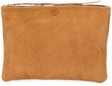 Caravana - Borsa clutch 'Chimalma' - women - Calf Leather - OS - BROWN