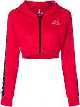 Kappa - Giacca corta con logo - women - Polyester - L - RED