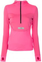 Adidas By Stella Mccartney - Giacca Run con cappuccio - women - Spandex/Elastane/Recycled Polyamide - S, XS, M, L, XXS - PINK & PURPLE