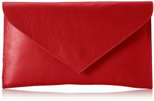 Bags4LessVenedig - Sacchetto Donna , Rosso (Rosso (Rot)), 2x18x28 cm (B x H x T)