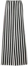 Federica Tosi - Pantaloni gamba larga - women - Silk/Spandex/Elastane - 38, 40, 42, 44 - BLACK