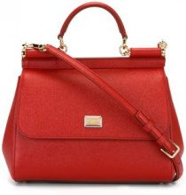 Dolce & Gabbana - Borsa a spalla Sicily media - women - Calf Leather - One Size - RED