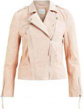 VILA Suede Jacket Women Pink