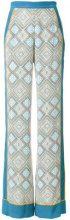 Talitha - printed palazzo pants - women - Viscose - XS, S, M, L, XL - BLUE