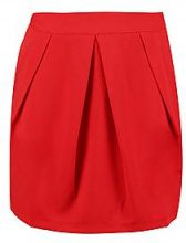Eve Crepe Pleat & Pocket Mini Skirt