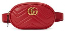 Gucci - Marsupio GG Marmont - women - Leather/metal - 75, 85 - RED